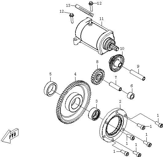 Motor Pornire
