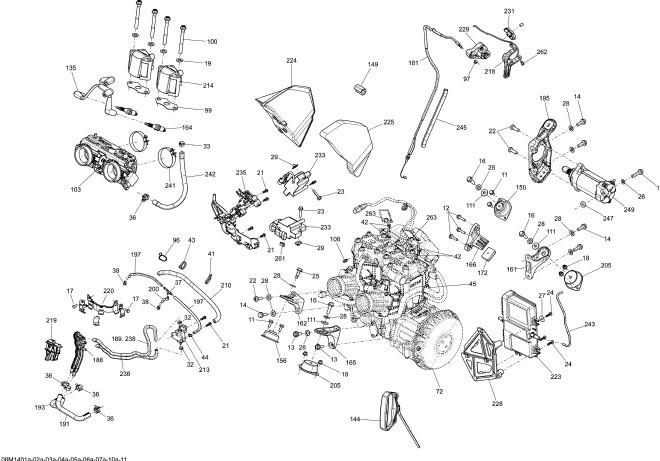 Motor Si Suport Motor