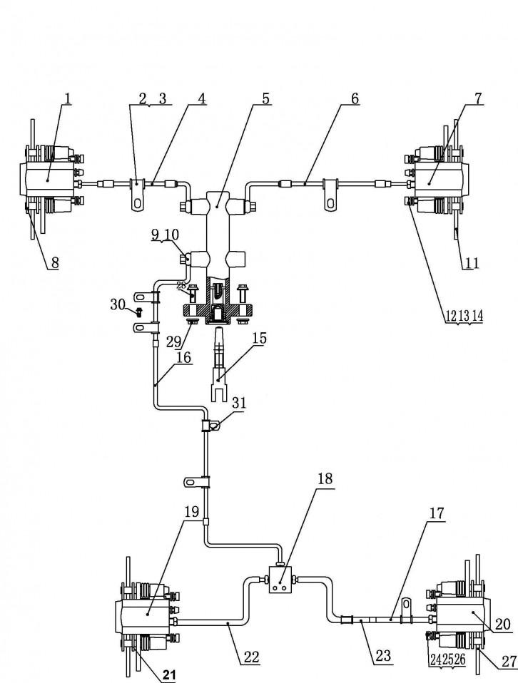Ansamblu Sistem Franare (europa)