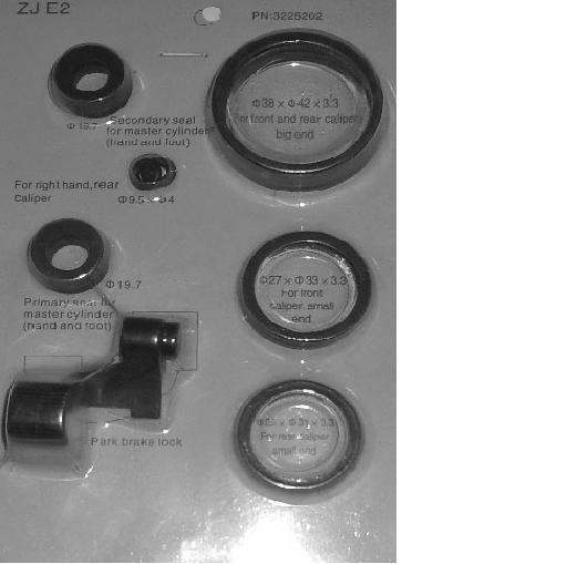 Kit Reparatie Pompa Frana