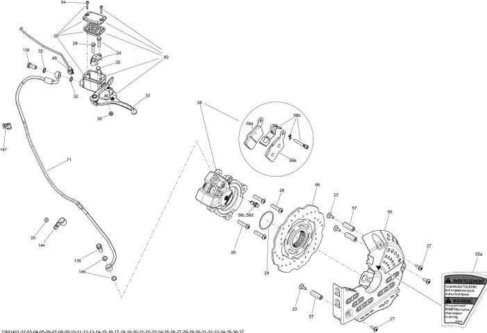 Sistem Franare Hidraulic