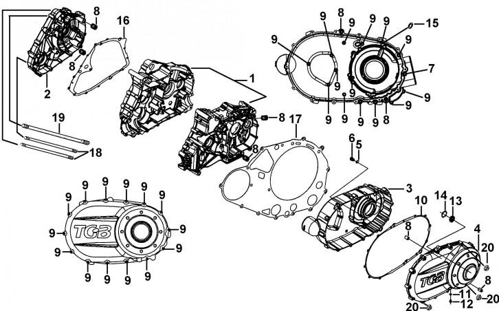 Cartere Si Capace Motor